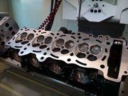 Yamaha R1 Zylinderkopfbearbeitung Porting Cylinderhead
