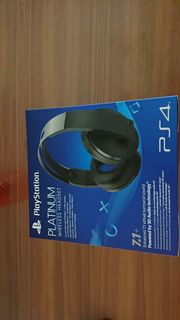 Playstation Platinum Headset Wireless