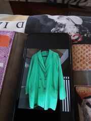 coole grüne Jacke Größe S