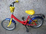 Kinder Fahrrad 16 Farbe rot