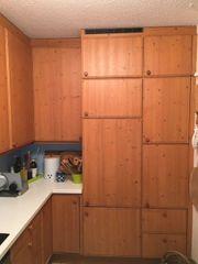 Poggenpohl Küche mit massiven Fichtenholztrüren