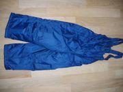 hübsche blaue Schneehose Gr 104