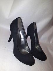 Schwarze High Heels Gr 37