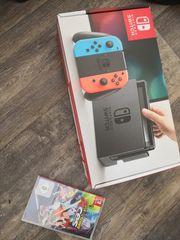 Nintendo Switch und Mario Tennis