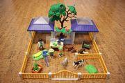 Playmobil 4344 Tierpflegestation mit Freigehege