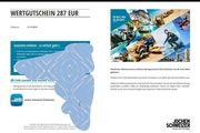 Jochen Schweizer Wertgutschein 287EUR 20EUR