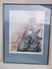 Bilder Kunstdruck im Holzrahmen mit