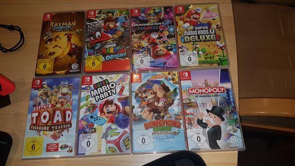 Komplette Nintendo switch mit spiele