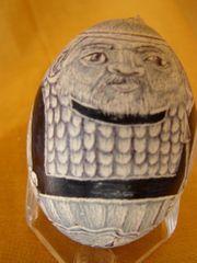 Eier-Schachspiel blau