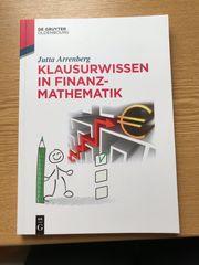 Klausurwissen in Finanzmathematik Jutta Arrenberg
