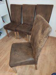 4 Stühle Esstischstühle Polsterstuhl