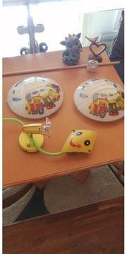 Kinderzimmer- Wand Deckenlampen