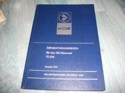 Reparaturhandbuch für das Motorrad MZ
