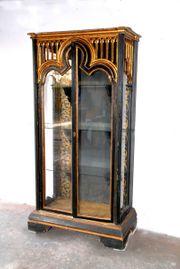antike Glasvitrine antiker Schrank