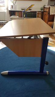 Kinderschreibtisch mit Stuhl Kettler höhenverstellbar