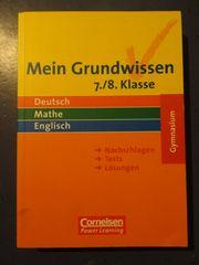 Inkl Versand Mein Grundwissen -Gymnasium