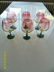 6 Cognacschwenker Kristall