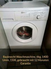 Bauknecht Waschmaschine 6kg 1400 Umin