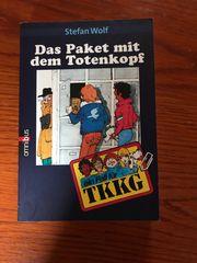 TKKG Buch Das Paket mit
