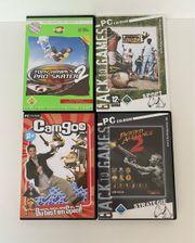 6er-Pack PC-Spiele zu verkaufen