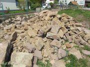 historische Sandsteine Sandsteingewänder von Abbruchhaus