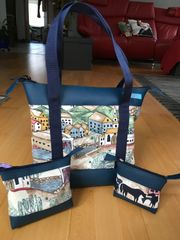 Shopper Taschen-Set 3tlg Handarbeit