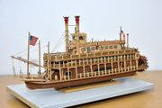 Hobby-Aufgabe Modellschiff King of Mississippi