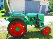 Oldtimer Traktor Normag