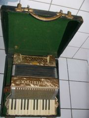 Akkordeon Weltmeister Koffer Ziehharmonika Schifferklavier