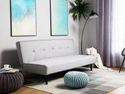 3-Sitzer Sofa Polsterbezug hellgrau VISBY neu