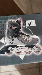 Neuwertige Inliner Skater Gr 42
