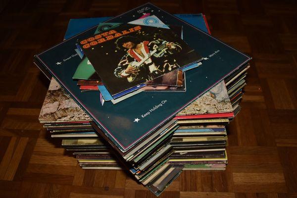 70 DDR Schallplatten Amiga LPs