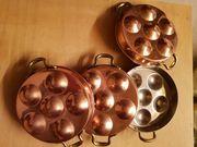 Schneckenpfännchen aus Kupfer