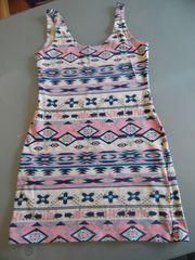 NEU Kleid Minikleid AjC gemustert