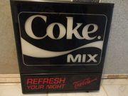 coke mix leucht werbung