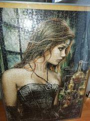 Puzzle gerahmt
