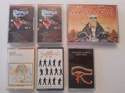 Diverse Musikkassetten