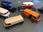 VW Bus Bulli Sammlung-Modellautos T1