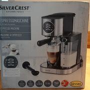 Espressomaschine OVP nagelneu mit Milchaufschäumer