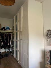 Pax IKEA Kleiderschrank weiß