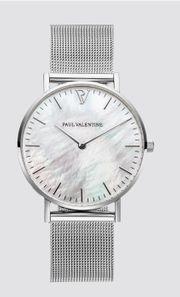 Paul Valentine - Perlmutt Uhr - NEU