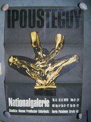 Ausstellungsplakat Neue Nationalgalerie Berlin 1970