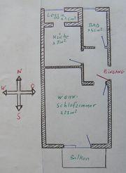 1-Zimmer-Wohnung in 79576 Weil am Rhein