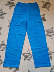 Blaue Jogginghose 146-152 x2