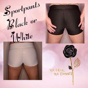 Sportpants Black or White
