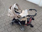 Kinderwagen Teutonia Cosmo mit Babyschale