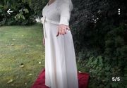 Hochzeitskleid Brautkleid Einzelanfertigung champagnerfarben neuwertig