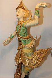 Thai Tempeltänzer - Antikfinish - sehr selten