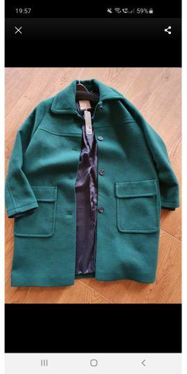 Esprit Damen Wintermantel grün