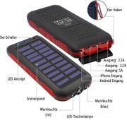 Solar Powerbank 25000mAh Komplett neu